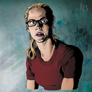Emily Bett Rickards as Felicity Smoak, 'Arrow'