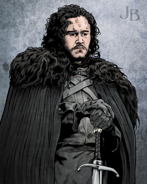 Kit Harington as Jon Snow, 'Game of Thrones'