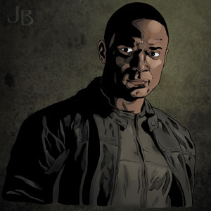 David Ramsey as John Diggle, 'Arrow'