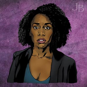 Simone Missick as Misty Knight, 'Luke Cage'